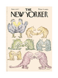 The New Yorker Cover - June 13, 1977 Giclee Print by Edward Koren