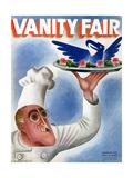 Vanity Fair Cover - November 1934 Giclee Print by Miguel Covarrubias