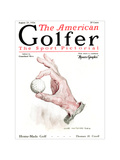 The American Golfer August 23, 1924 Regular Giclee Print by James Montgomery Flagg