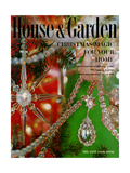 House & Garden Cover - December 1959 Premium Giclee Print by  Karlson