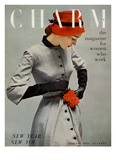 Charm Cover - January 1951 Reproduction proc&#233;d&#233; gicl&#233;e par Carmen Schiavone