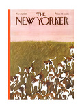 The New Yorker Cover - November 6, 1965 Giclee Print by Ilonka Karasz