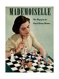 Mademoiselle Cover - July 1938 Regular Giclee Print by Paul D'Ome