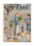 The New Yorker Cover - April 5, 1958 Giclee Print by Garrett Price