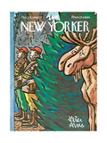 The New Yorker Cover - October 24, 1964 Regular Giclee Print by Peter Arno