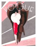 Vogue Cover - November 1926 Regular Giclee Print by William Bolin