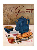 Gourmet Cover - March 1944 Regular Giclee Print by Henry Stahlhut