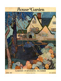 House &amp; Garden Cover - June 1917 Giclee Print by Porter Woodruff