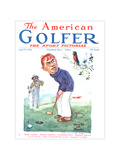 The American Golfer April 5, 1924 Regular Giclee Print by James Montgomery Flagg