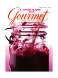 Gourmet Cover - August 2004 Regular Giclee Print by Romulo Yanes