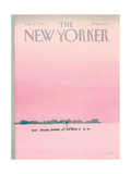 The New Yorker Cover - February 4, 1985 Giclee Print by Susan Davis