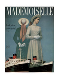Mademoiselle Cover - May 1949 Regular Giclee Print by Herman Landshoff