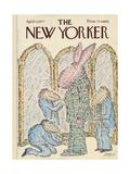 The New Yorker Cover - April 11, 1977 Regular Giclee Print par Edward Koren