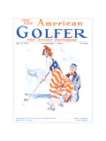 The American Golfer July 12, 1924 Regular Giclee Print by James Montgomery Flagg