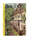 The New Yorker Cover - August 10, 1935 Giclee Print by Arnold Hall