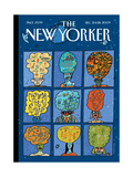 The New Yorker Cover - December 21, 2009 Regular Giclee Print by  Mariscal