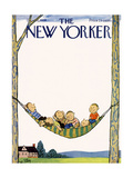 The New Yorker Cover - July 26, 1958 Giclee Print by William Steig