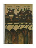 The New Yorker Cover - February 18, 1967 Regular Giclee Print by Andre Francois
