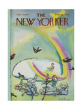 The New Yorker Cover - June 17, 1967 Regular Giclee Print by Andre Francois