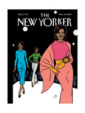 The New Yorker Cover - March 16, 2009 Regular Giclee Print by Jean Claude Floc'h