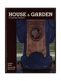 House & Garden Cover - February 1932 Giclee Print by Pierre Brissaud