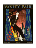 Vanity Fair Cover - March 1923 Giclee Print by Nicholas Remisoff