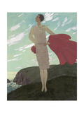 Vogue - July 1927 Regular Giclee Print by Pierre Brissaud