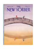 The New Yorker Cover - June 18, 1984 Regular Giclee Print by Susan Davis