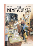 The New Yorker Cover - December 1, 2003 Regular Giclee Print by Edward Sorel