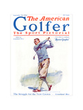 The American Golfer September 20, 1924 Regular Giclee Print by James Montgomery Flagg