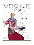 Vogue - February 1924 Regular Giclee Print by Eduardo Garcia Benito