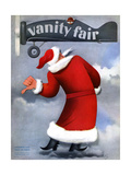 Vanity Fair Cover - December 1935 Regular Giclee Print by  Garretto