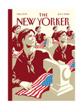 The New Yorker Cover - July 3, 2006 Regular Giclee Print by Christoph Niemann