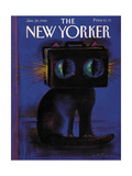The New Yorker Cover - January 29, 1990 Regular Giclee Print by Andre Francois