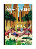 The New Yorker Cover - July 6, 2009 Regular Giclee Print by Mark Ulriksen