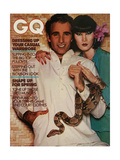 GQ Cover - April 1976 Giclee Print by Albert Watson
