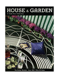 House & Garden Cover - June 1933 Regular Giclee Print by Anton Bruehl