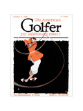 The American Golfer October 1920 Regular Giclee Print by Jr., W.A. Adriance