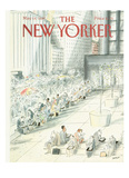 The New Yorker Cover - May 18, 1987 Reproduction procédé giclée par Jean-Jacques Sempé
