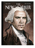 The New Yorker Cover - January 26, 2009 Reproduction procédé giclée par Drew Friedman