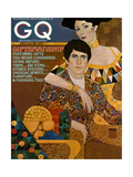 GQ Cover - December 1972 Regular Giclee Print by Richard Amsel
