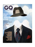 GQ Cover - December 1974 Regular Giclee Print by  Victor Valla & Eric Meola