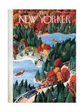 The New Yorker Cover - October 18, 1941 Regular Giclee Print by Roger Duvoisin