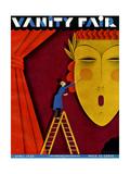 Vanity Fair Cover - April 1930 Regular Giclee Print by  Maurer
