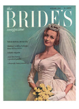 Brides Cover - August 1960 Regular Giclee Print by Eveyln Hofer
