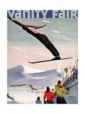 Vanity Fair Cover - January 1936 Giclee Print by  Deyneka
