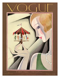 Vogue Cover - October 1926 Regular Giclee Print by William Bolin