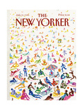 The New Yorker Cover - July 21, 1986 Regular Giclee Print by Andrej Czeczot