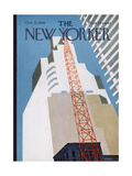 The New Yorker Cover - October 22, 1966 Giclee Print by Charles E. Martin