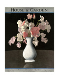 House & Garden Cover - April 1930 Giclee Print by André E. Marty
